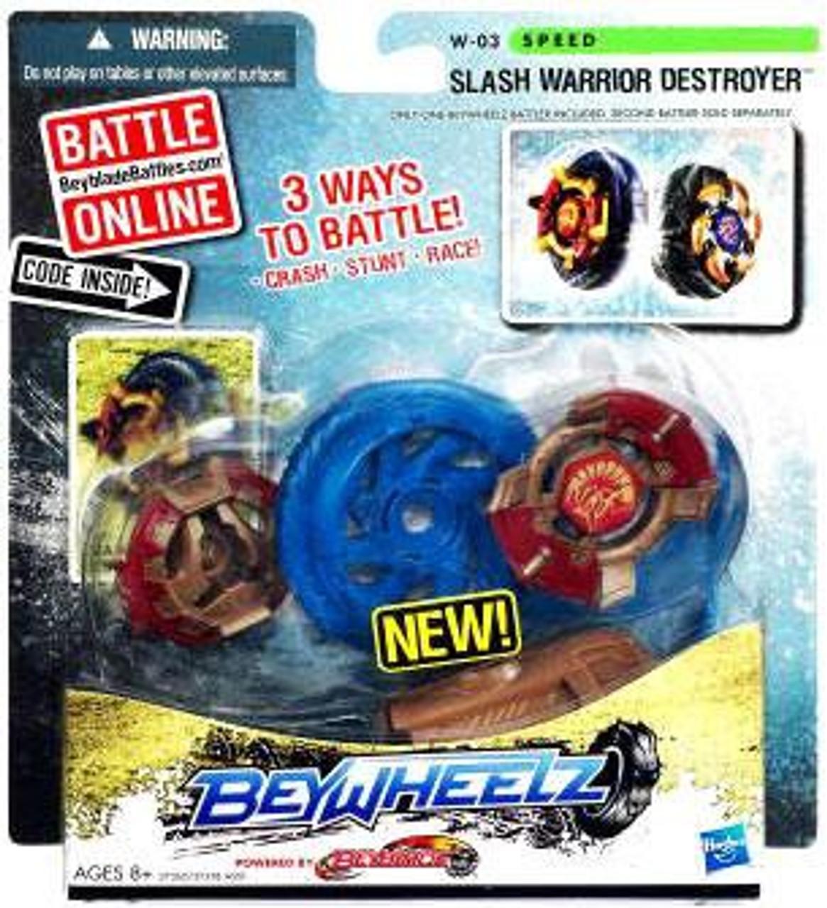 Beyblade Beywheelz Slash Warrior Destroyer W-03