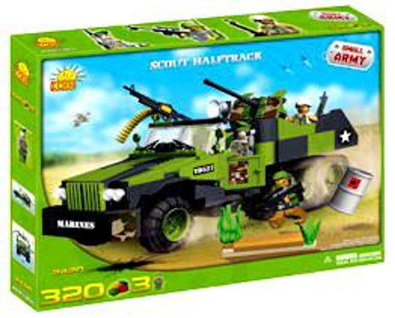 COBI Blocks Small Army Scout Halftrack Set #2420