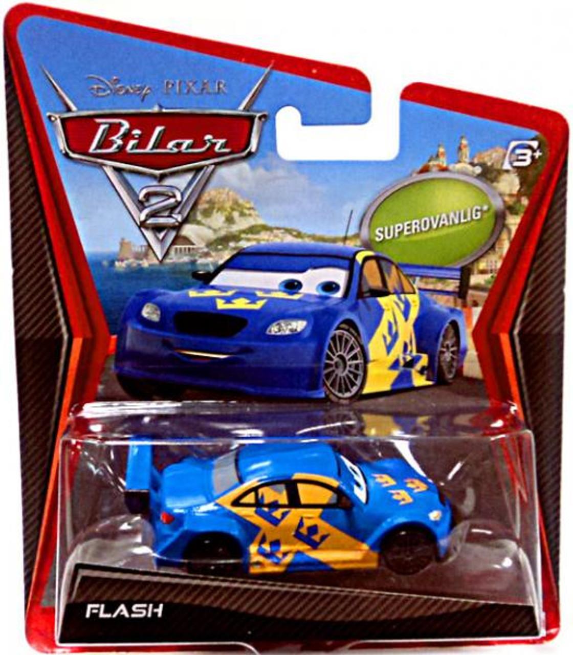 Disney Cars Cars 2 Main Series Flash Diecast Car [Sweden]