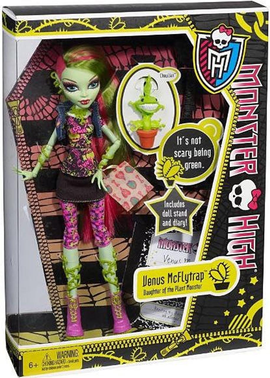 Monster High Venus McFlytrap 10.5-Inch Doll [With Chewlian]