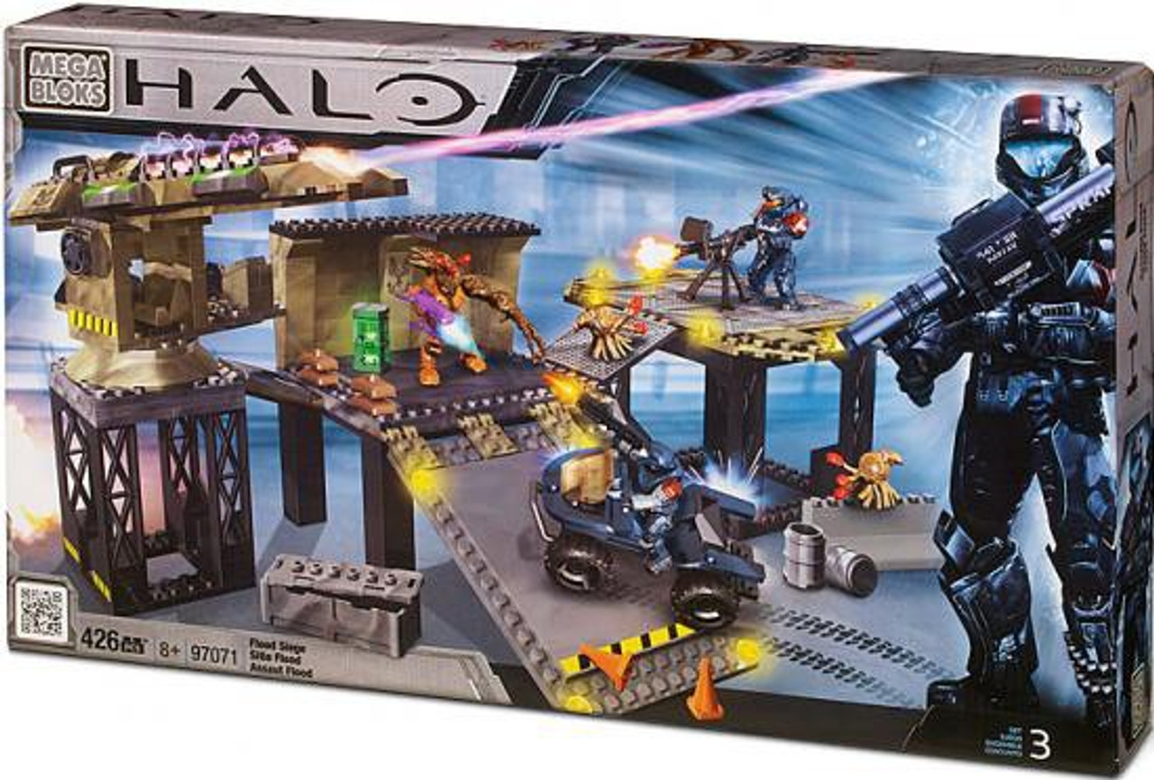Mega Bloks Halo Covert Ops: Flood Siege Exclusive Set #97071