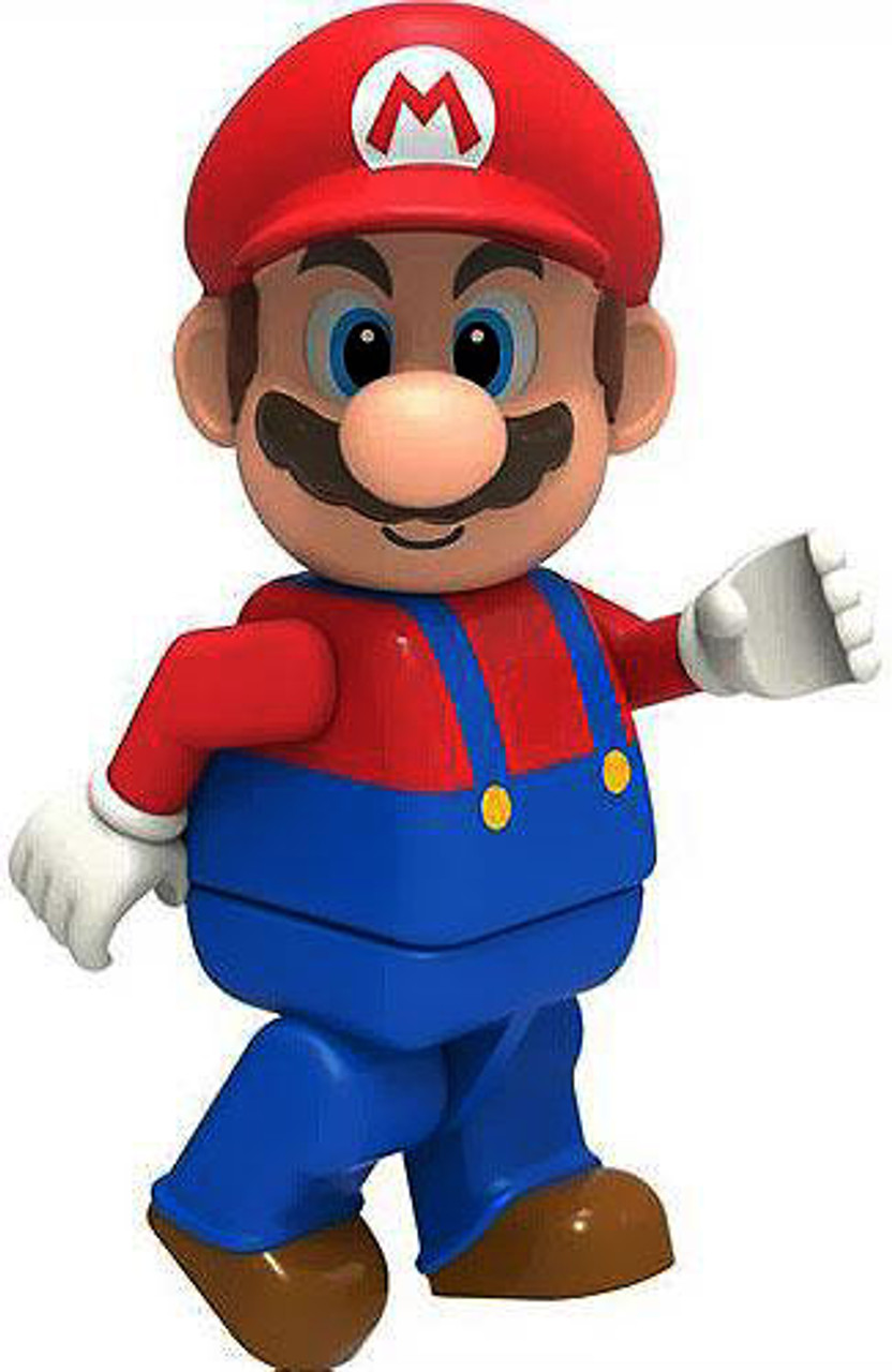 K'NEX Super Mario Mario 2-Inch Minifigure [Loose]
