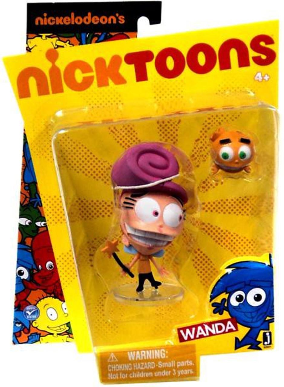 NickToons Fairly Odd Parents Wanda 3-Inch Figure