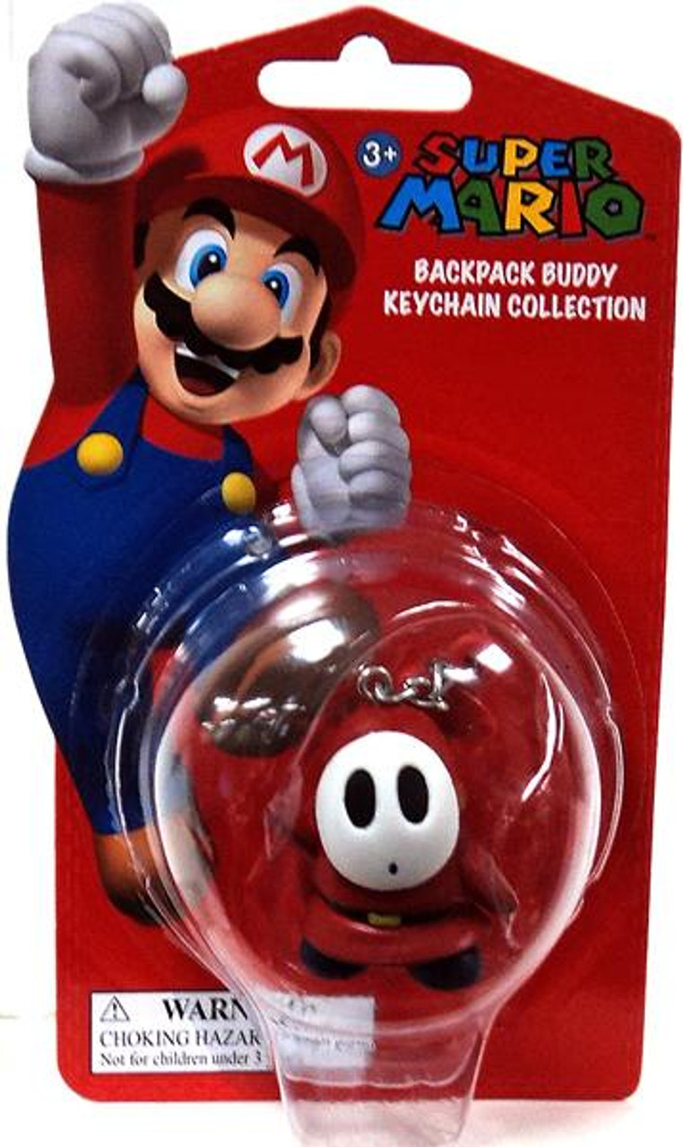 Super Mario Backpack Buddy Collection Shy Guy 2-Inch Keychain