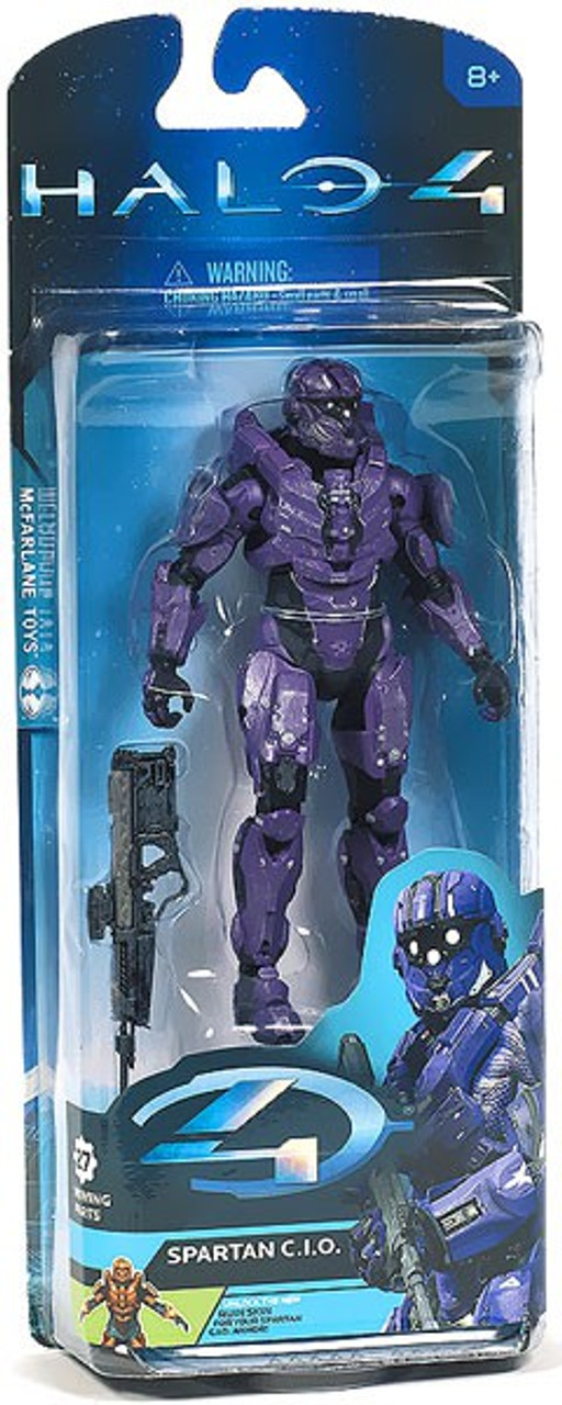 McFarlane Toys Halo 4 Series 2 Spartan CIO Action Figure [Violet]