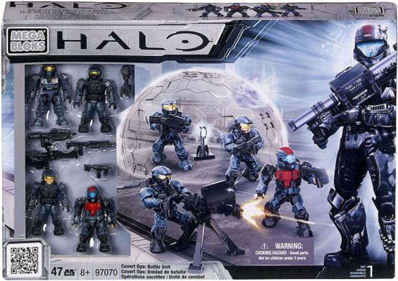 Mega Bloks Halo Covert Ops: Battle Unit Exclusive Set #97070