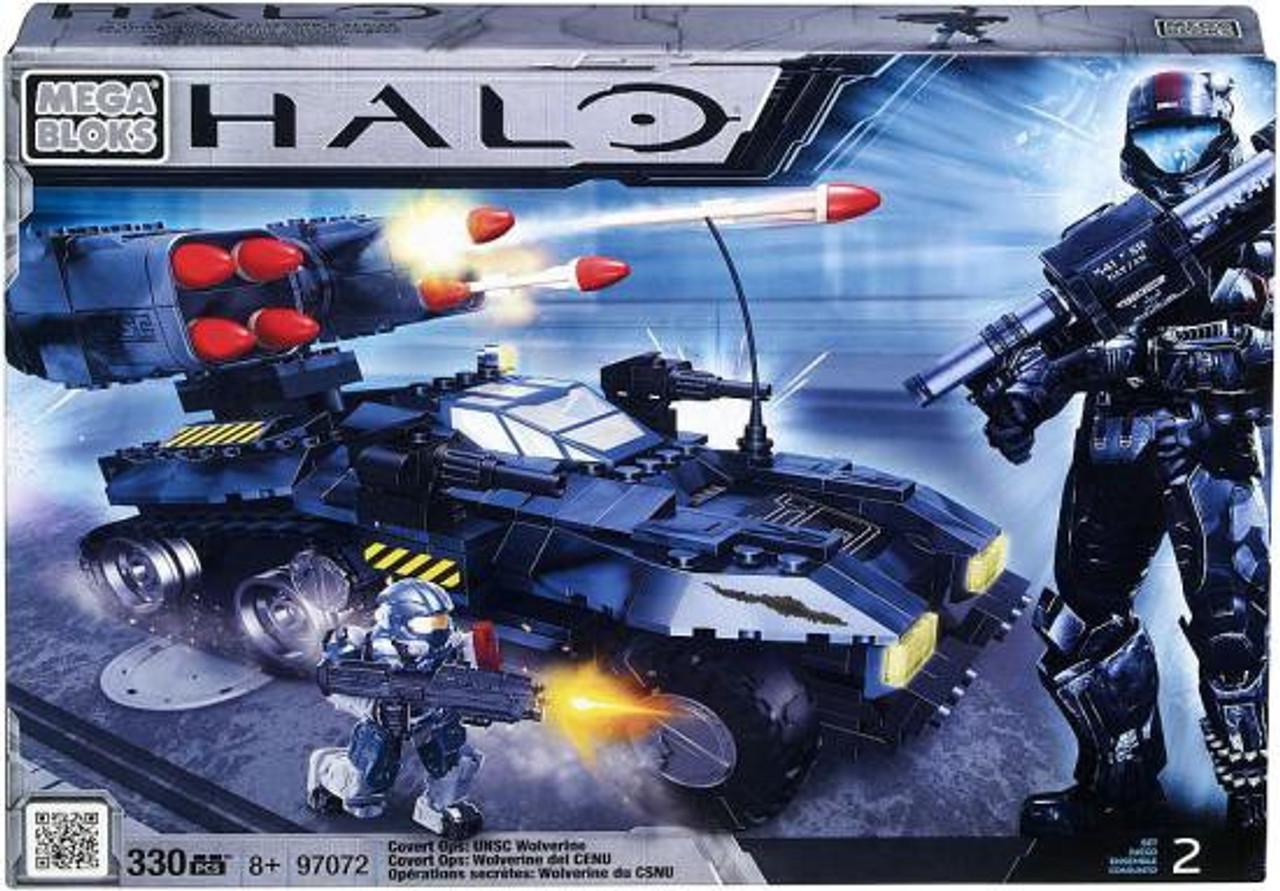 Mega Bloks Halo Covert Ops: UNSC Wolverine Exclusive Set #97072
