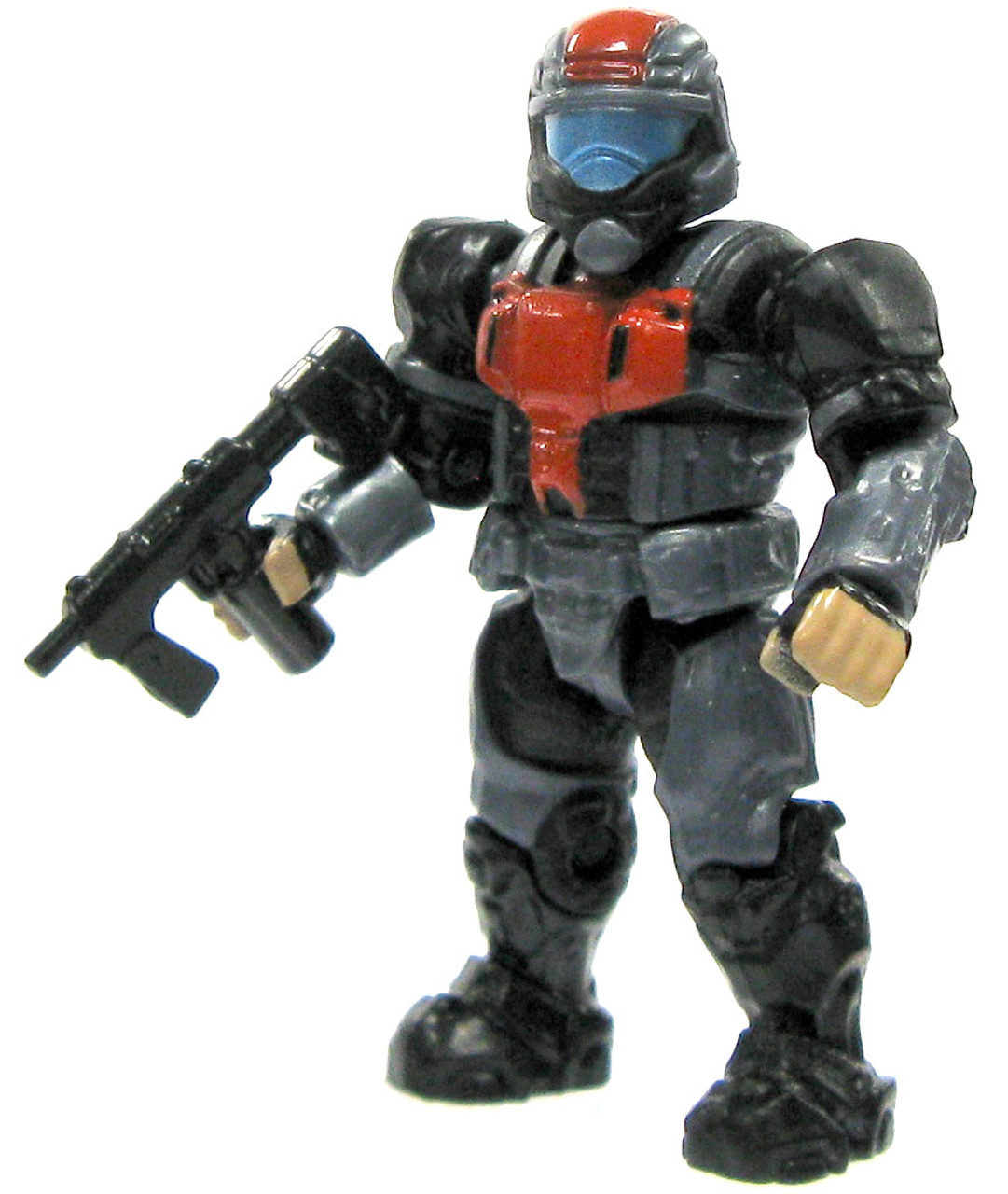 Mega Bloks Halo Loose ODST 2-Inch Minifigure [Blue Steel Loose]