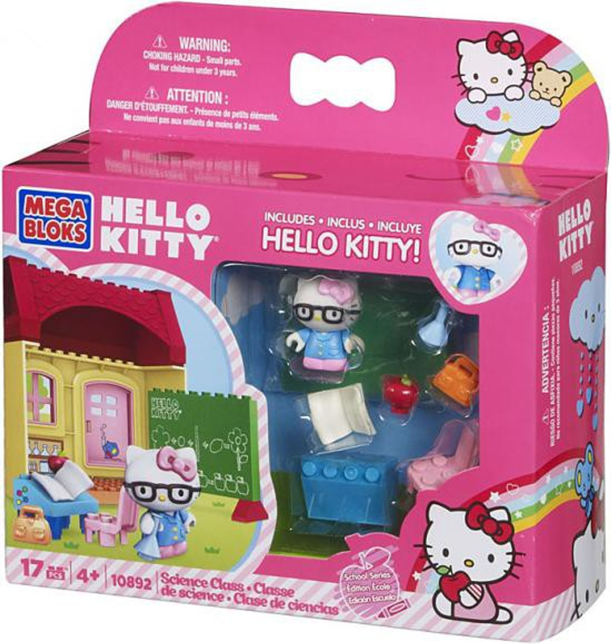 Mega Bloks Hello Kitty School Series Science Class Set #10892