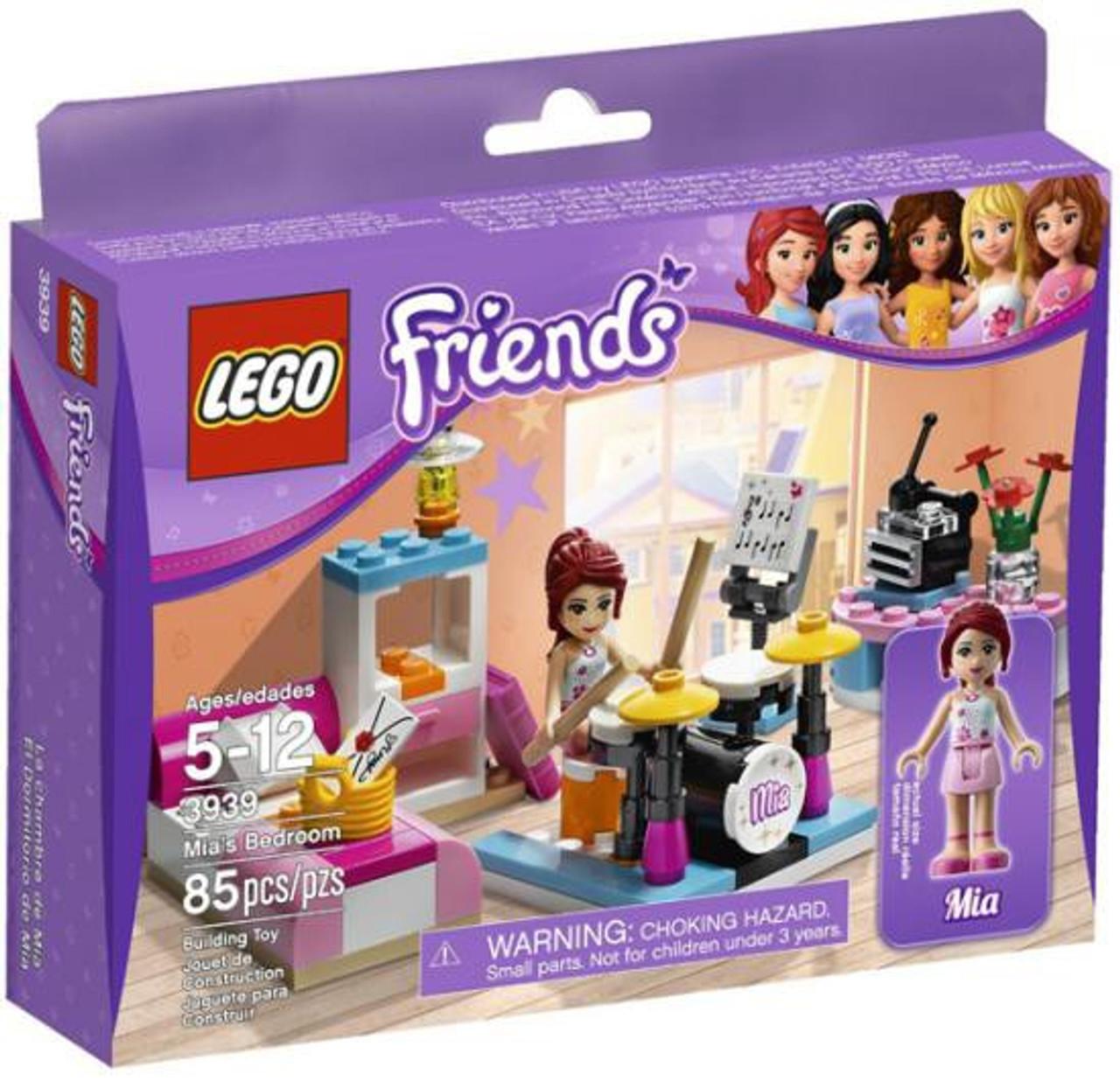 LEGO Friends Mia's Bedroom Set #3939