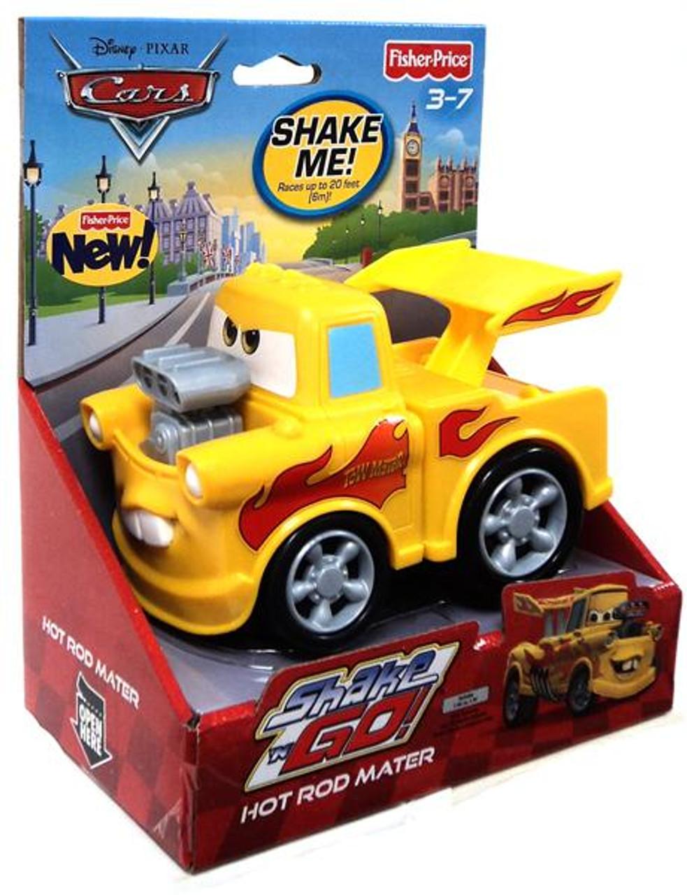 Disney Cars Cars 2 Shake 'N Go Hot Rod Mater Shake 'N Go Car