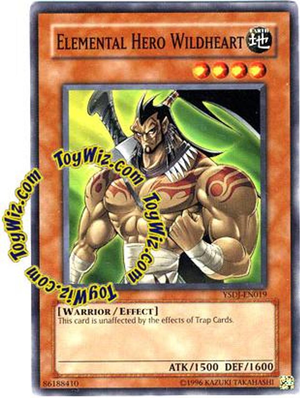 Elemental Hero Wildheart YuGiOh GX Starter Deck...