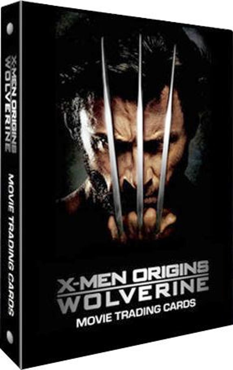 X-Men Origins Wolverine Trading Card Album