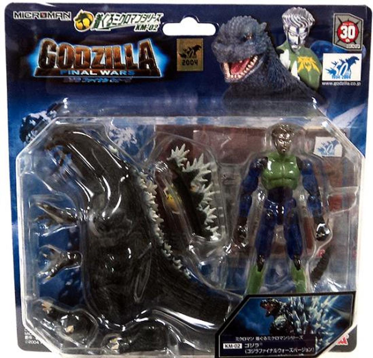 Microman Godzilla Figure KM-02 [Final Wars Version]