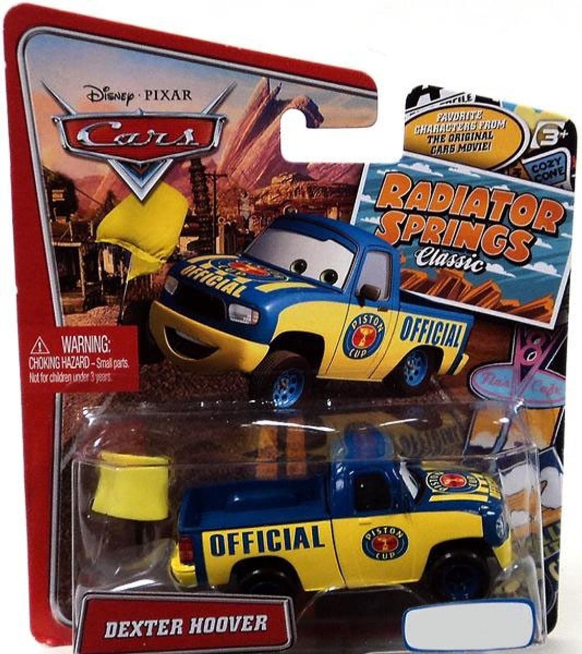 Disney Cars Radiator Springs Classic Dexter Hoover Exclusive Diecast Car
