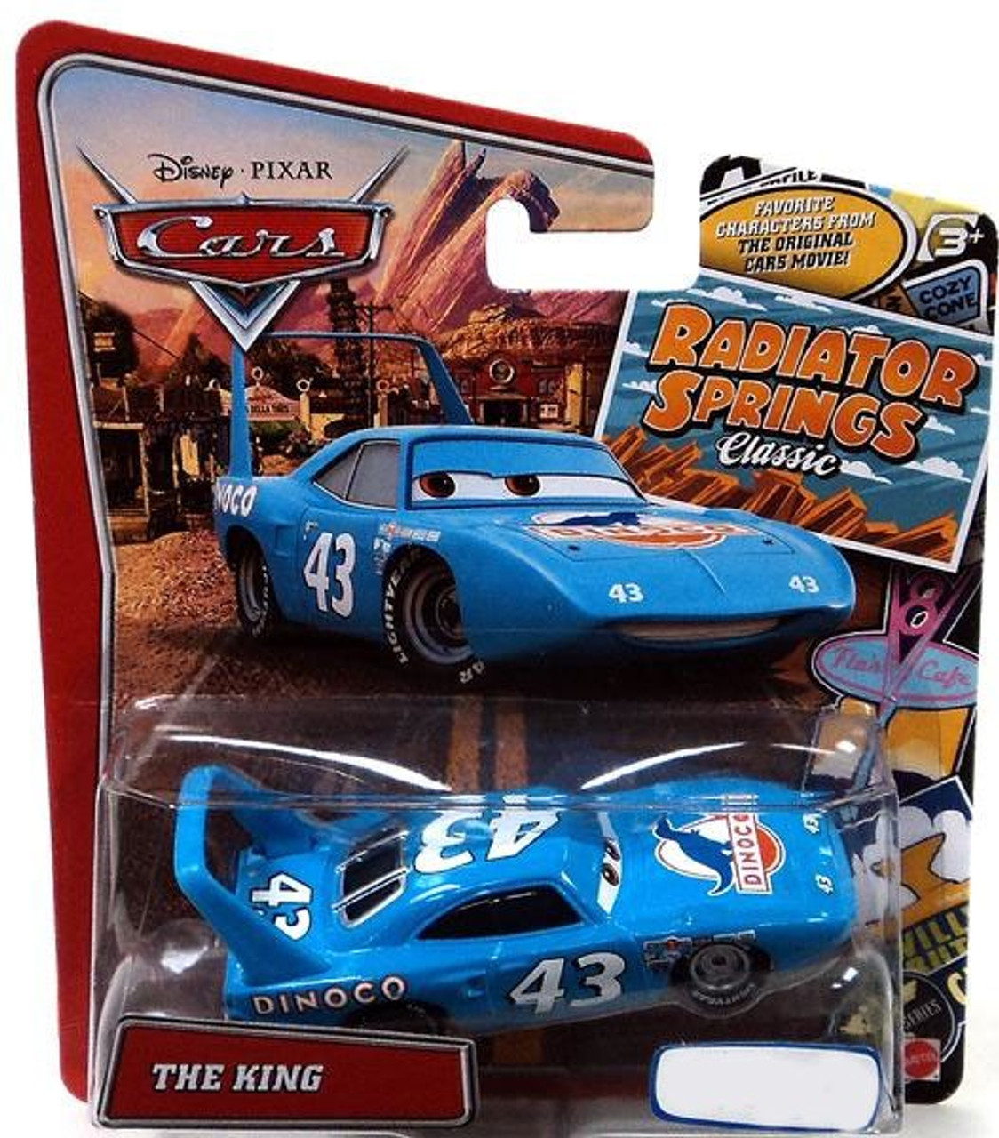 Disney Cars Radiator Springs Classic The King Exclusive Diecast Car