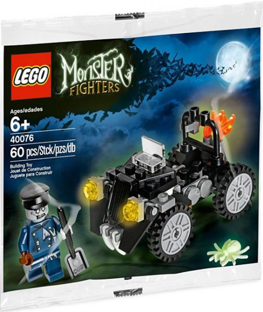 LEGO Monster Fighters Zombie Car & Driver Mini Set #40076 [Bagged]