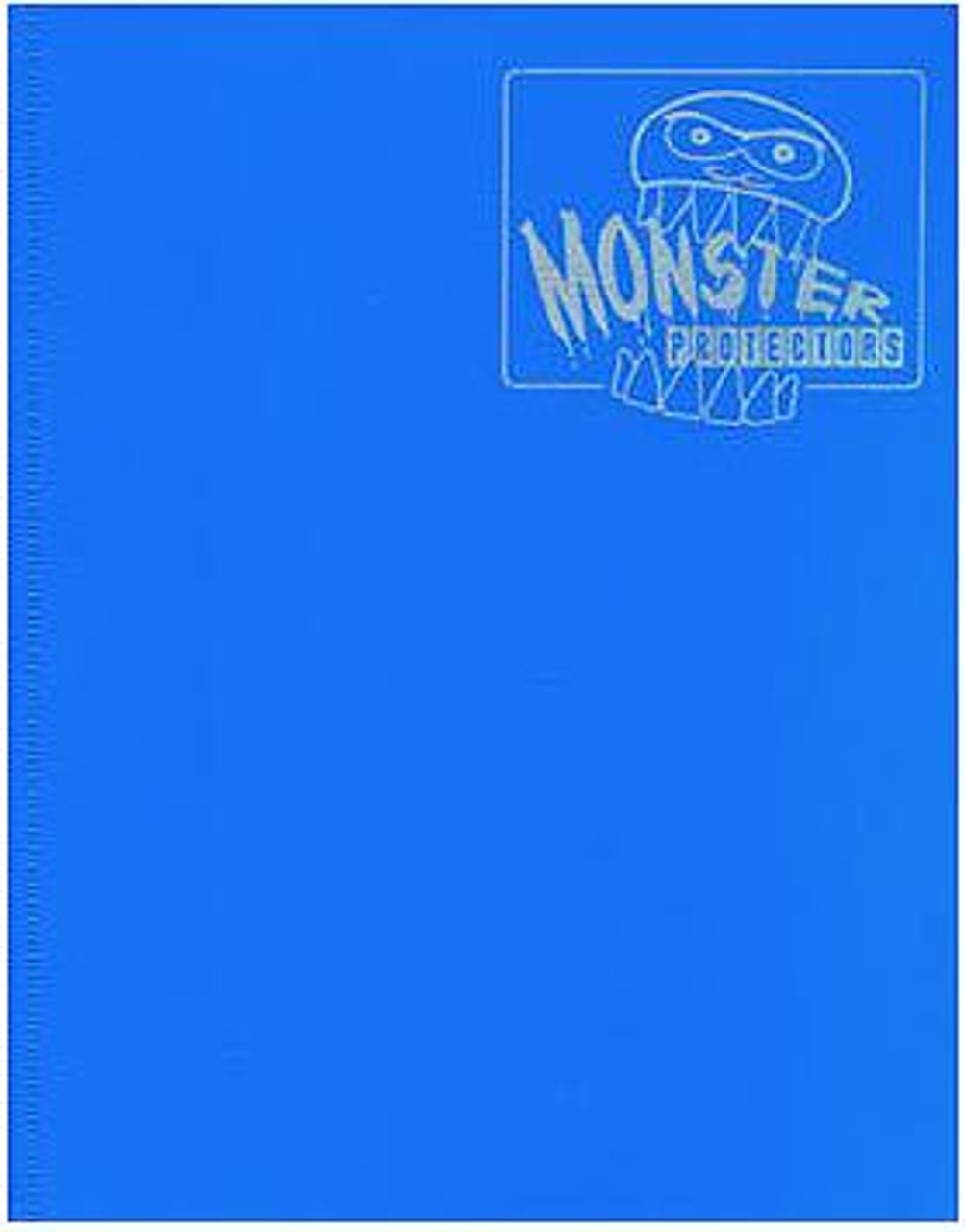 Card Supplies Blue 4-Pocket Binder