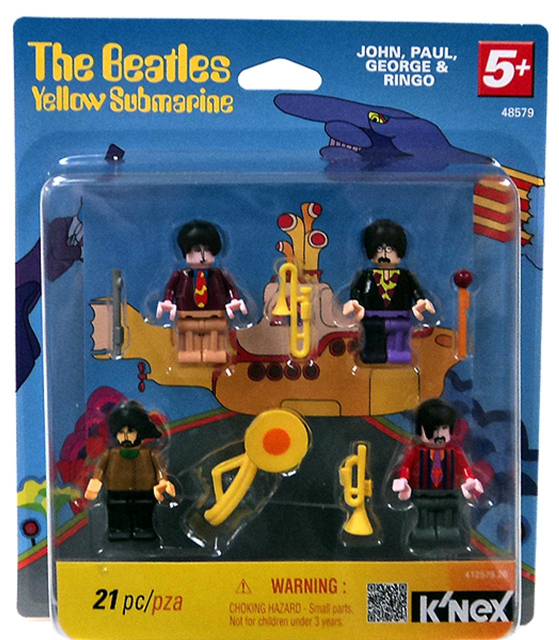 K'NEX The Beatles Yellow Submarine Set #48579