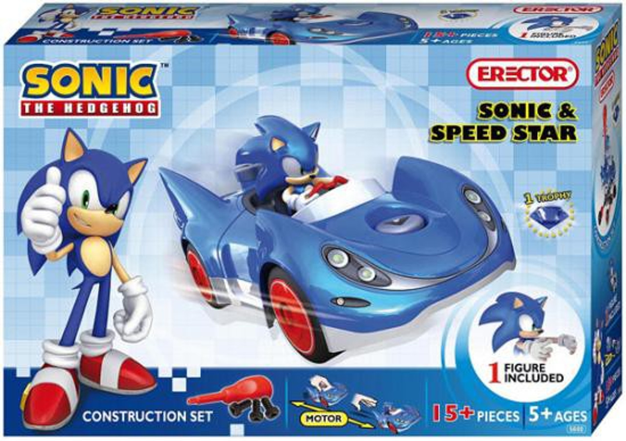 Sonic The Hedgehog Sonic & Speed Star Construction Set #5600