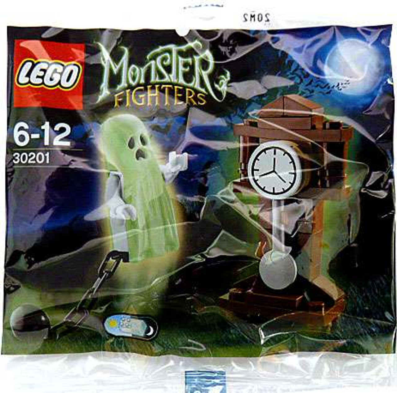 LEGO Monster Fighters Ghost & Grandfather Clock Mini Set #30201 [Bagged]