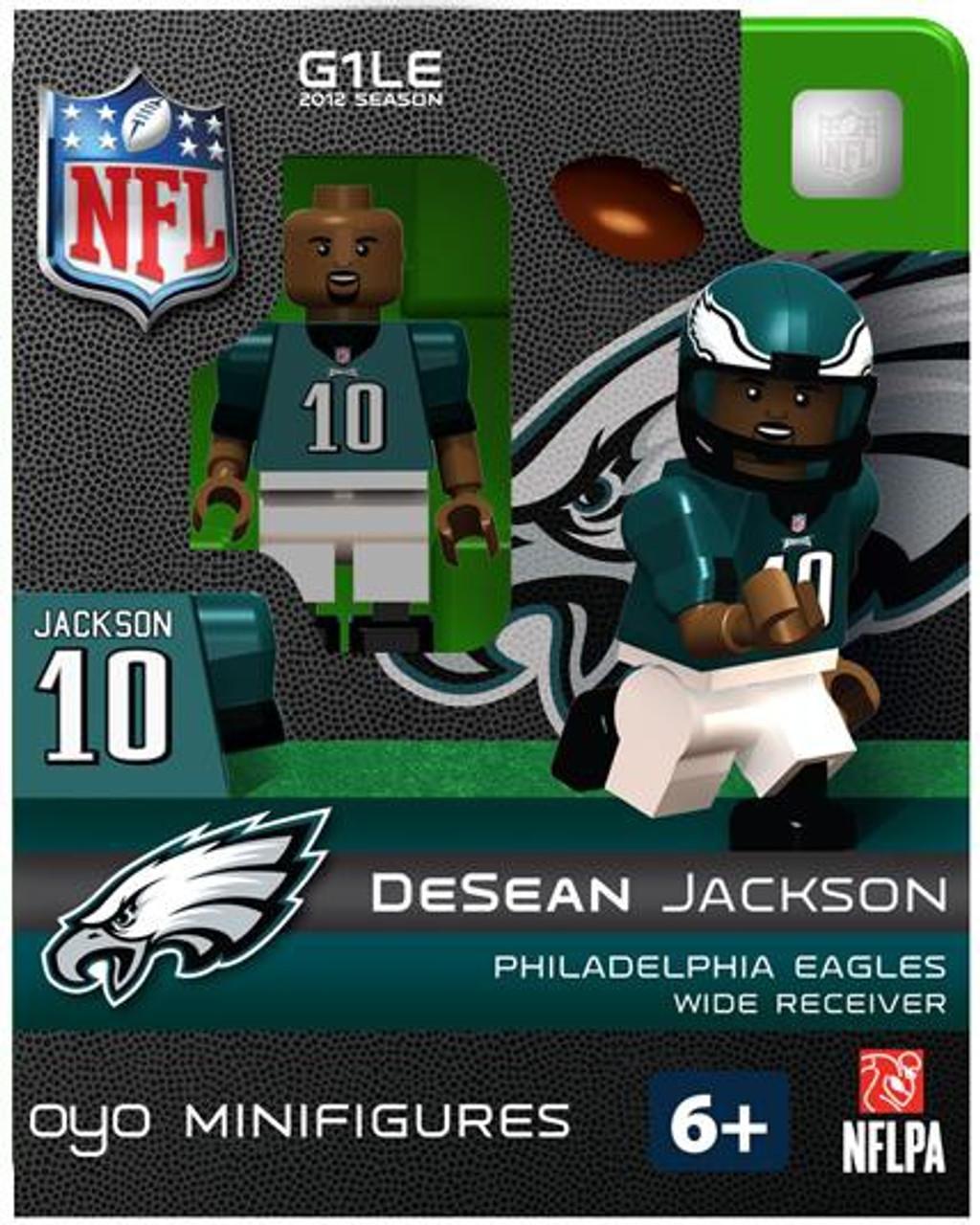 Philadelphia Eagles NFL Generation 1 2012 Season DeSean Jackson Minifigure