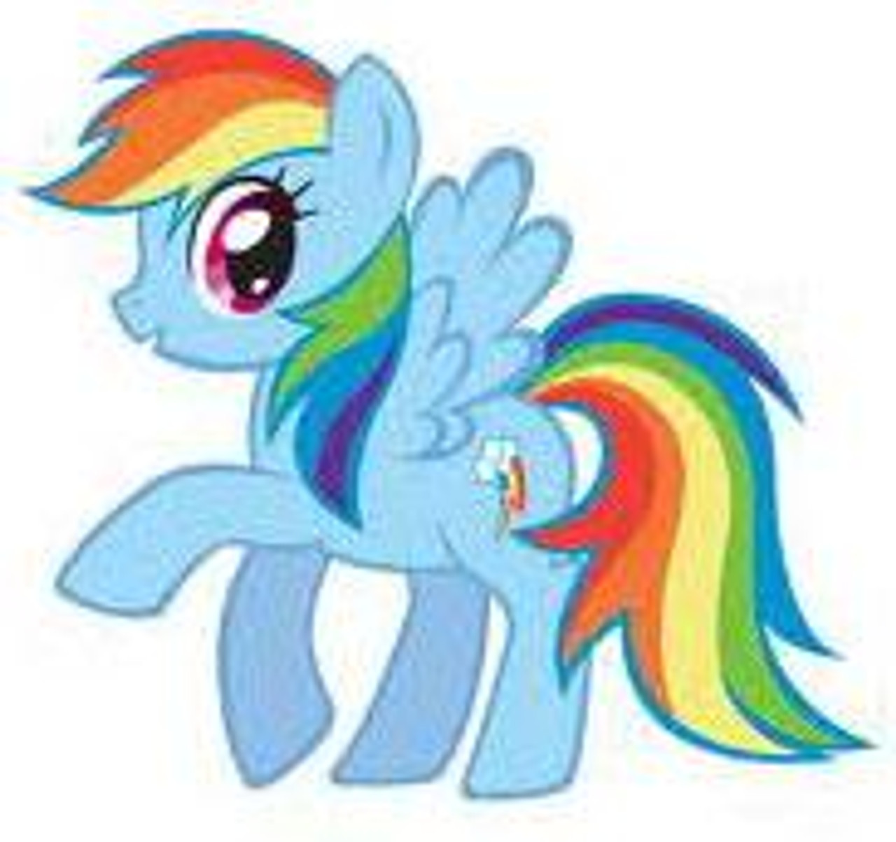 My Little Pony Friendship is Magic 5 Inch Rainbow Dash Plush