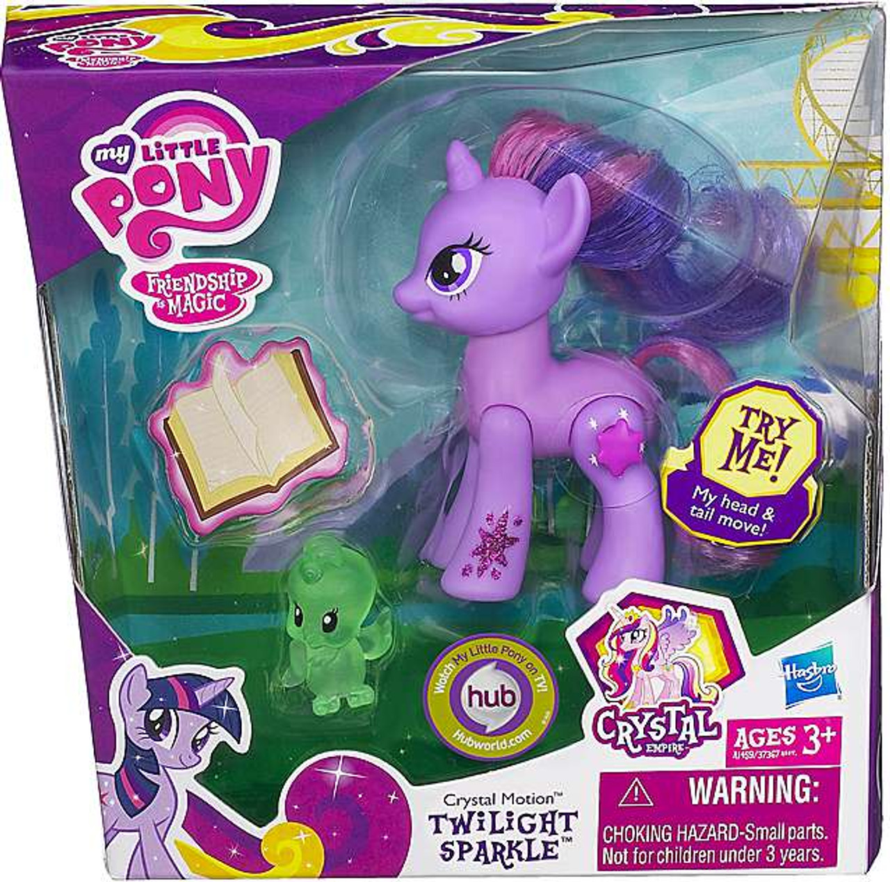 My Little Pony Friendship is Magic Crystal Empire Crystal Motion Twilight Sparkle Figure