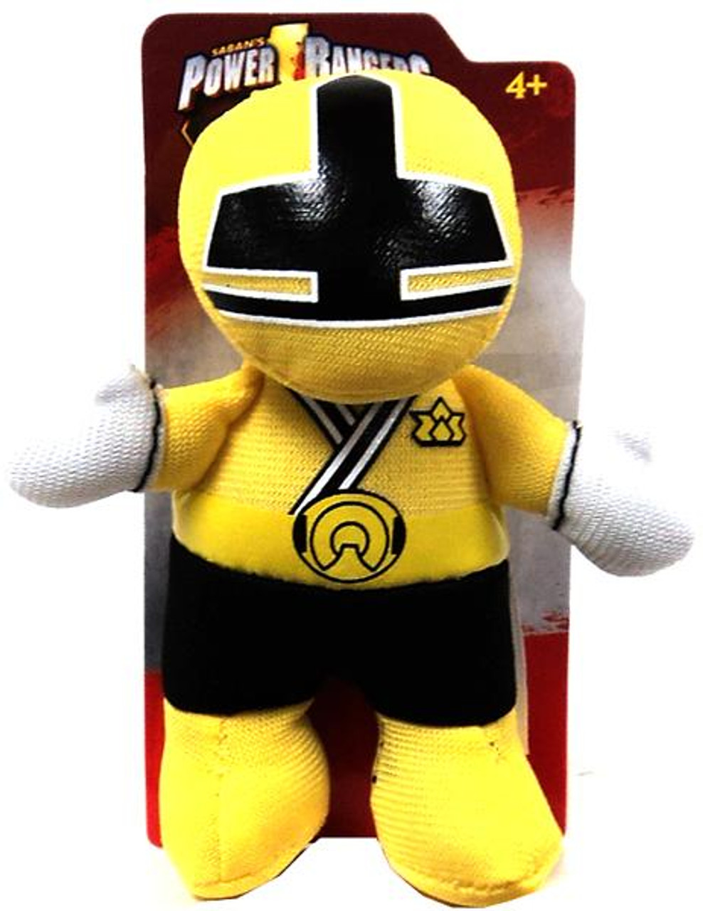 Power Rangers Super Samurai 3 Inch Yellow Ranger Plush