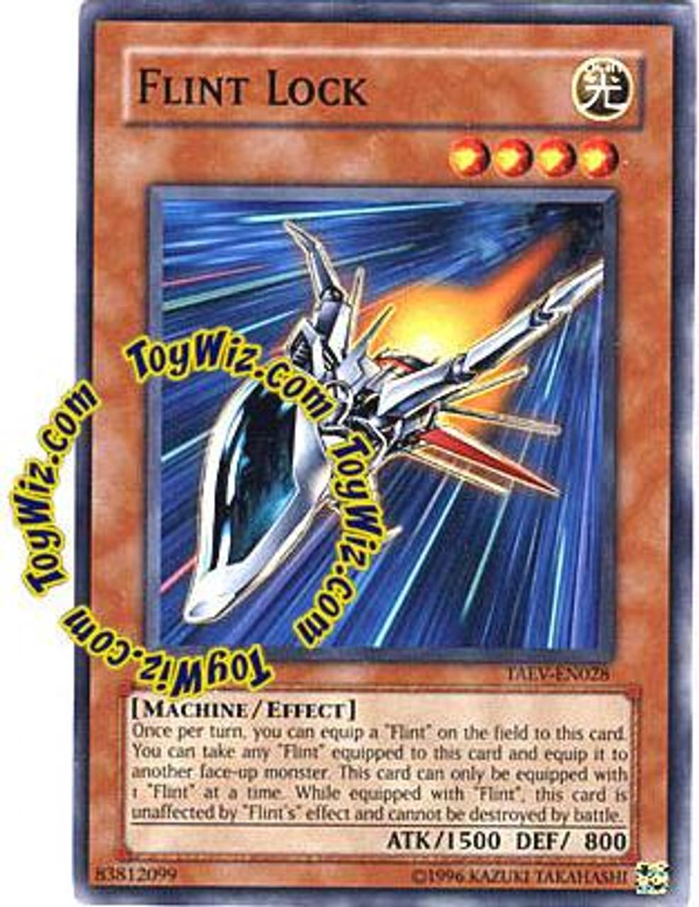 YuGiOh GX Tactical Evolution Common Flint Lock TAEV-EN028