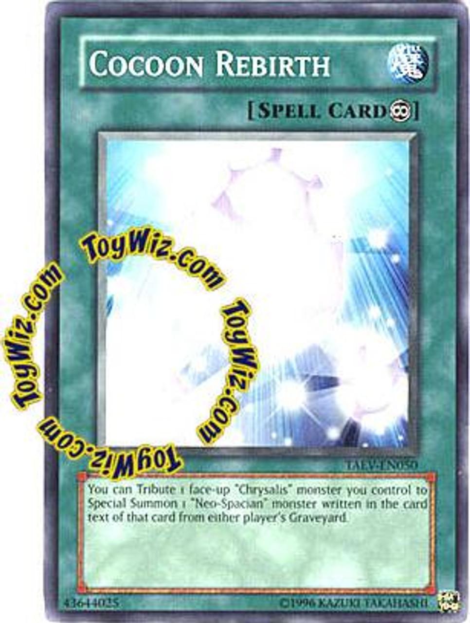 YuGiOh GX Tactical Evolution Common Cocoon Rebirth TAEV-EN050