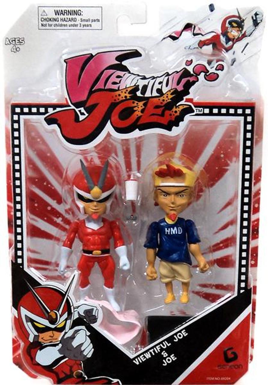 Series 1 Viewtiful Joe & Joe Action Figure 2-Pack