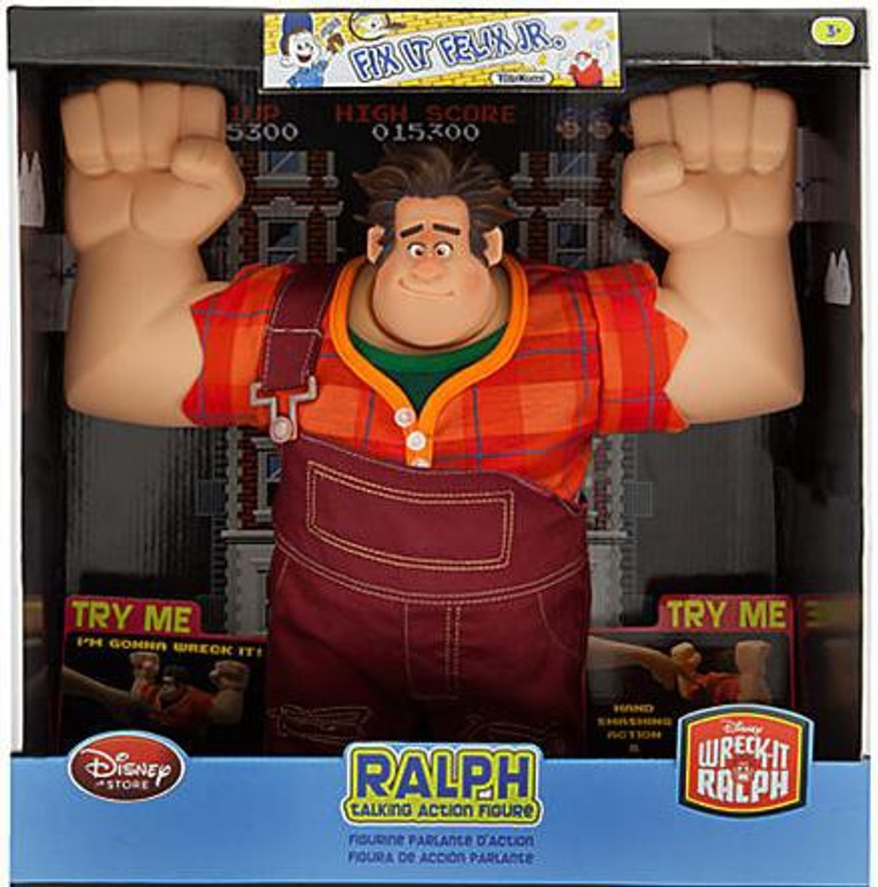 Disney Wreck-It Ralph Ralph Exclusive Action Figure [Talking]