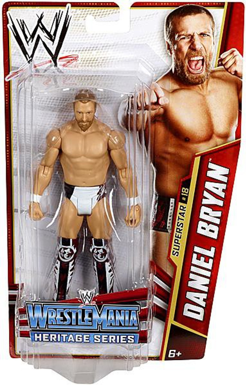 WWE Wrestling Series 26 Daniel Bryan Action Figure #18