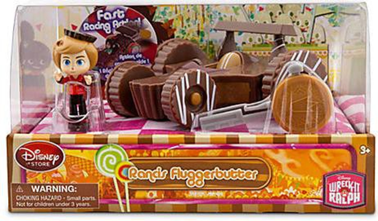 Disney Wreck-It Ralph Sugar Rush Racer Rancis Fluggerbutter Exclusive Figure Set