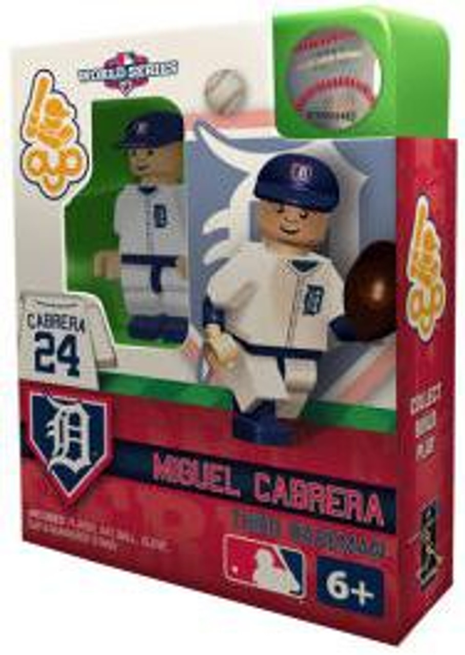 Detroit Tigers MLB 2012 World Series Miguel Cabrera Minifigure