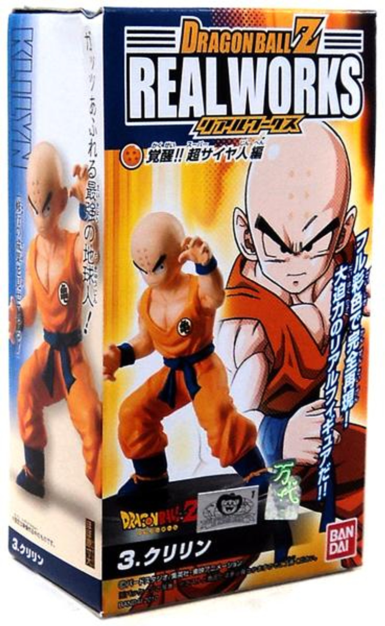Dragon Ball Z Real Works Collection 4 Krillin 4.5-Inch PVC Figure