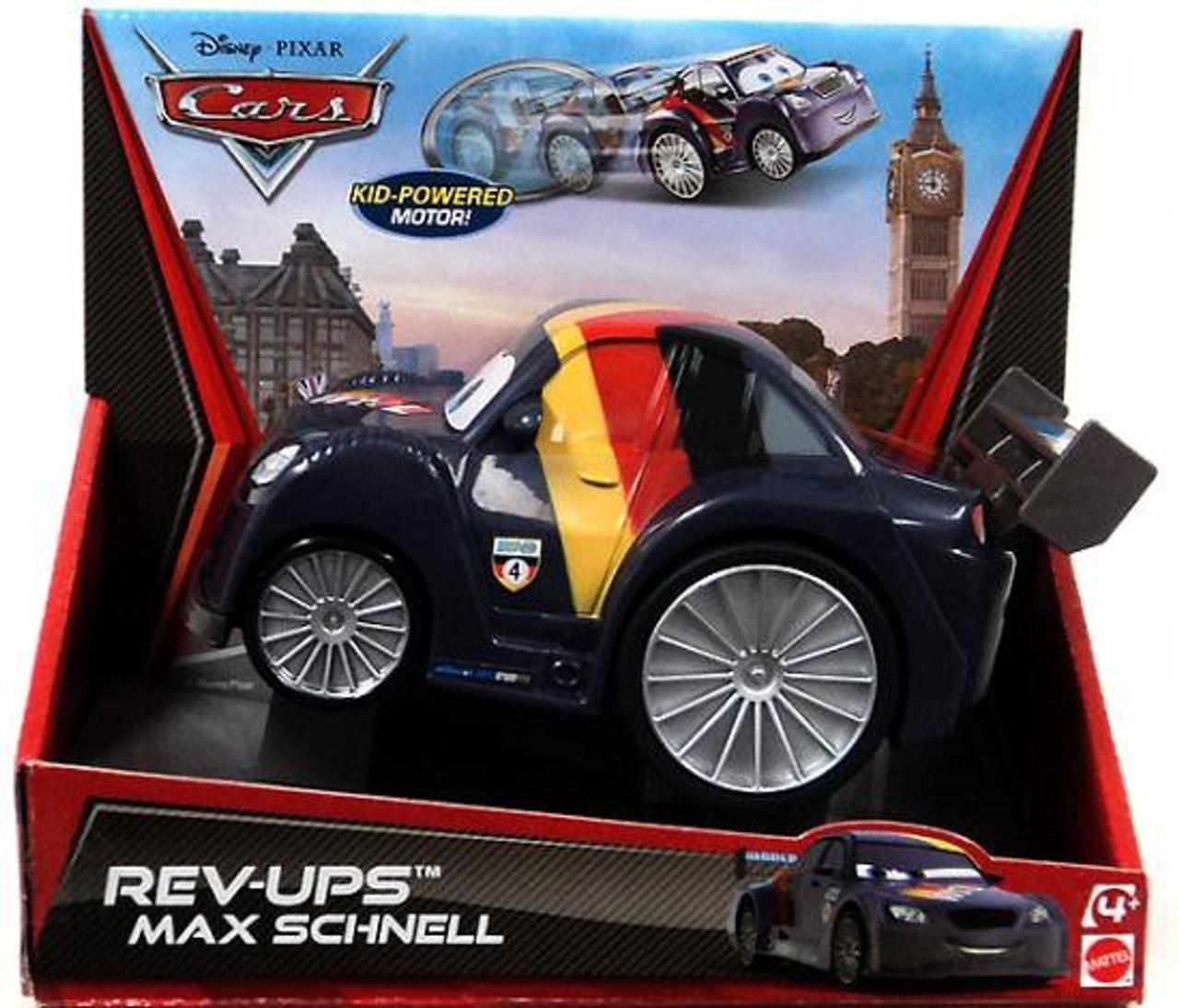 Disney Cars Rev-Ups Max Schnell Plastic Car