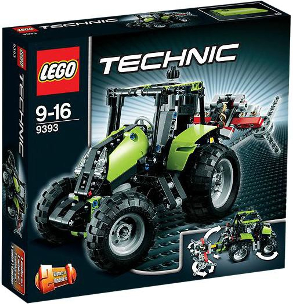 LEGO Technic Tractor Exclusive Set #9393