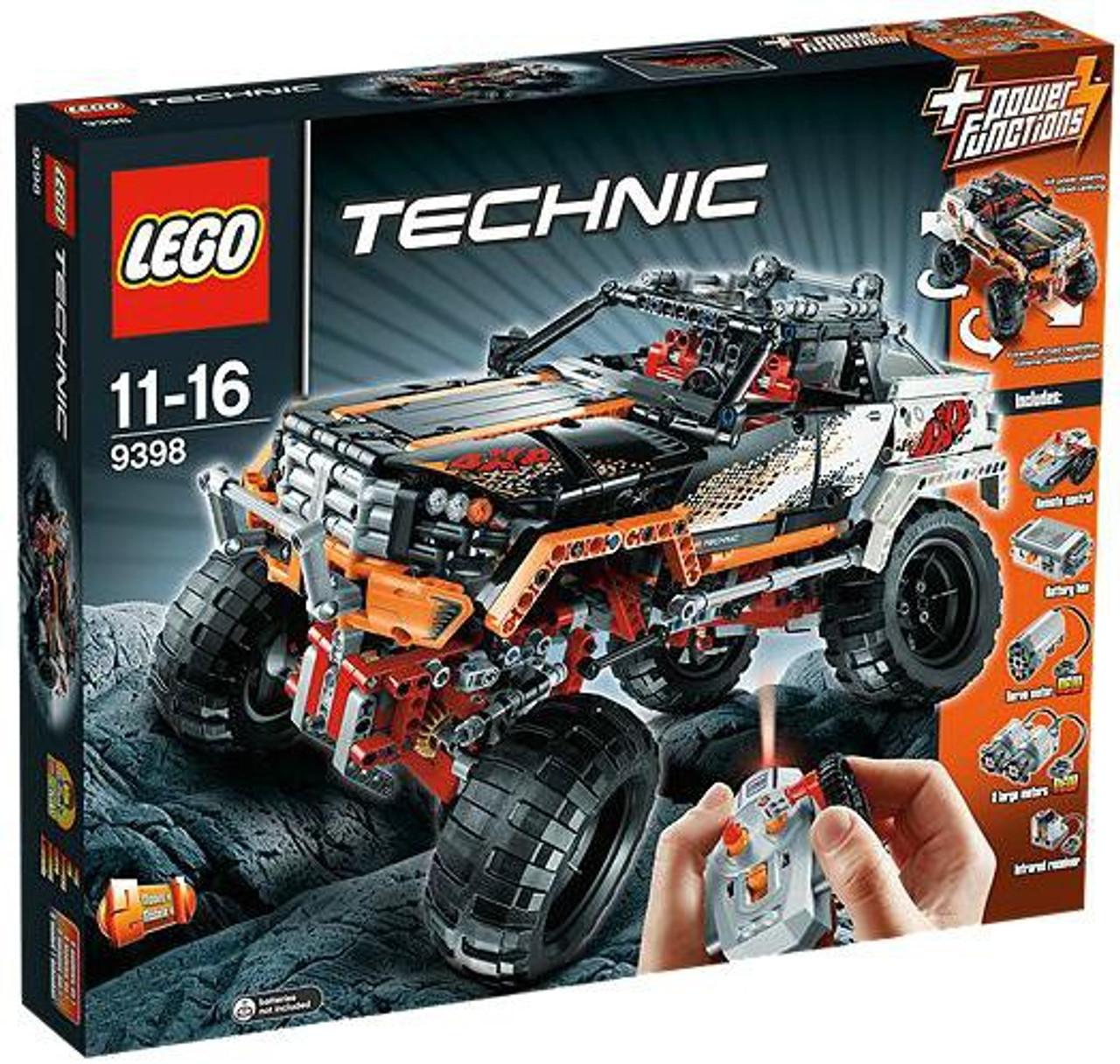 LEGO Technic Power Functions 4x4 Crawler Set #9398