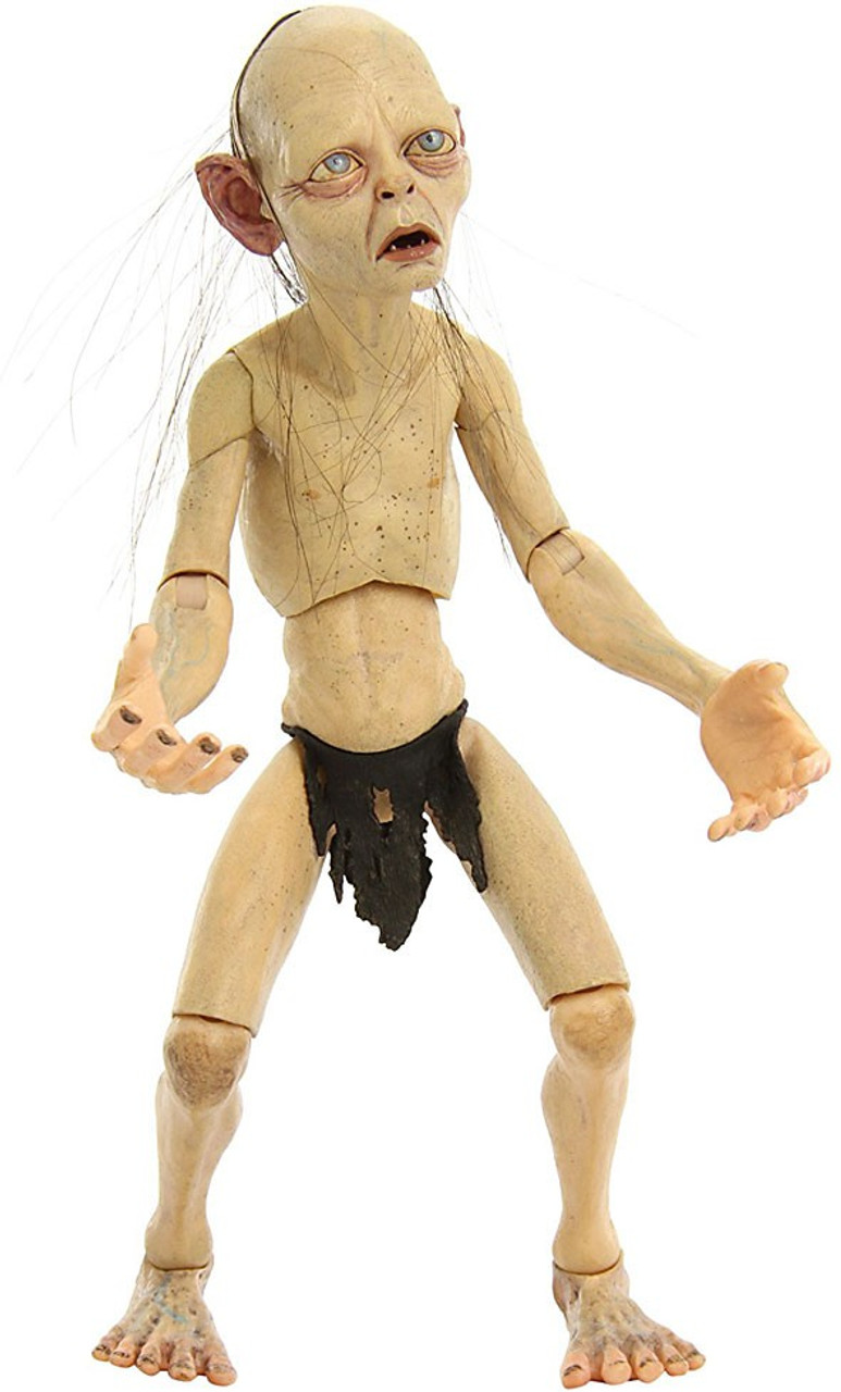 NECA The Lord of the Rings Quarter Scale Smeagol Action Figure