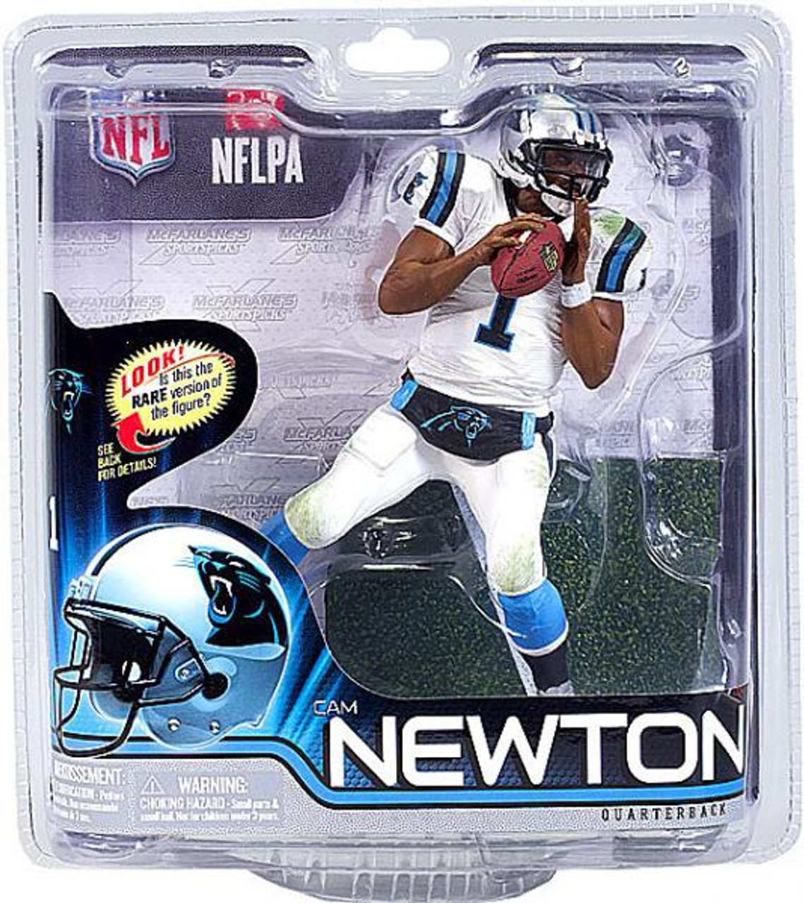 McFarlane Toys NFL Carolina Panthers Sports Picks Series 31 Cam Newton Action Figure [White Jersey]