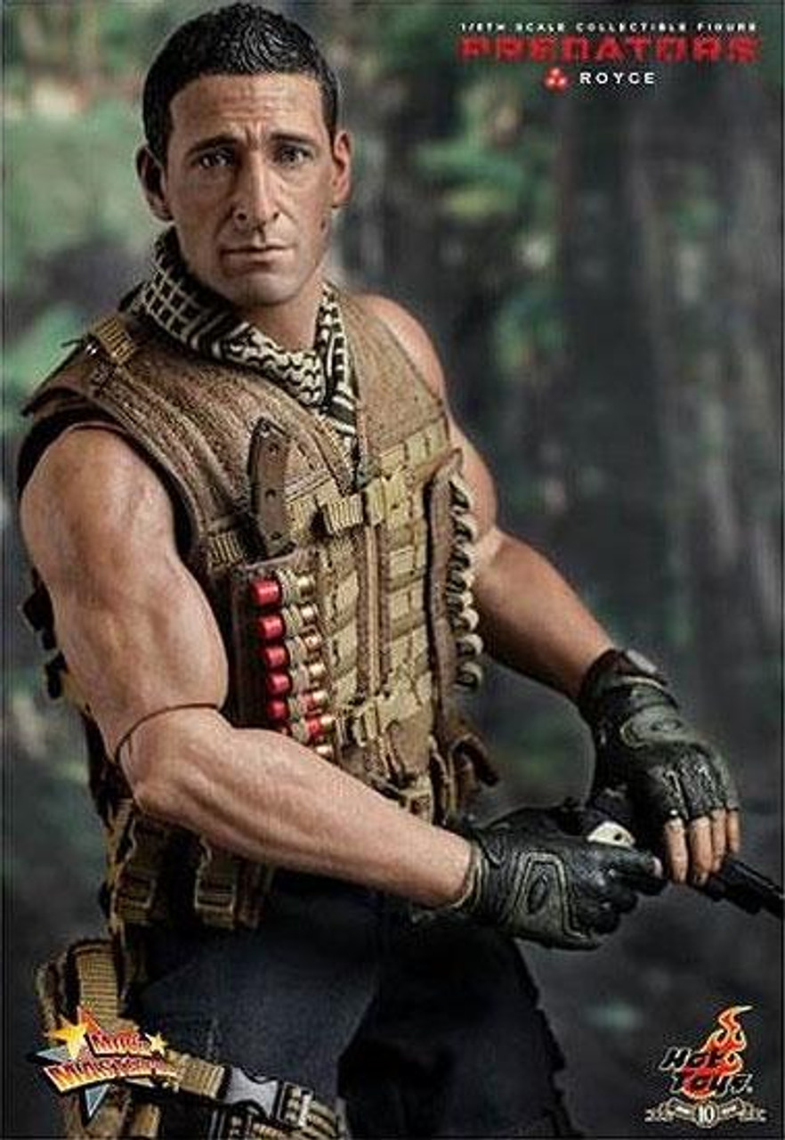 Predators Movie Masterpiece Royce 1/6 Collectible Figure [Damaged Package, Mint Contents]