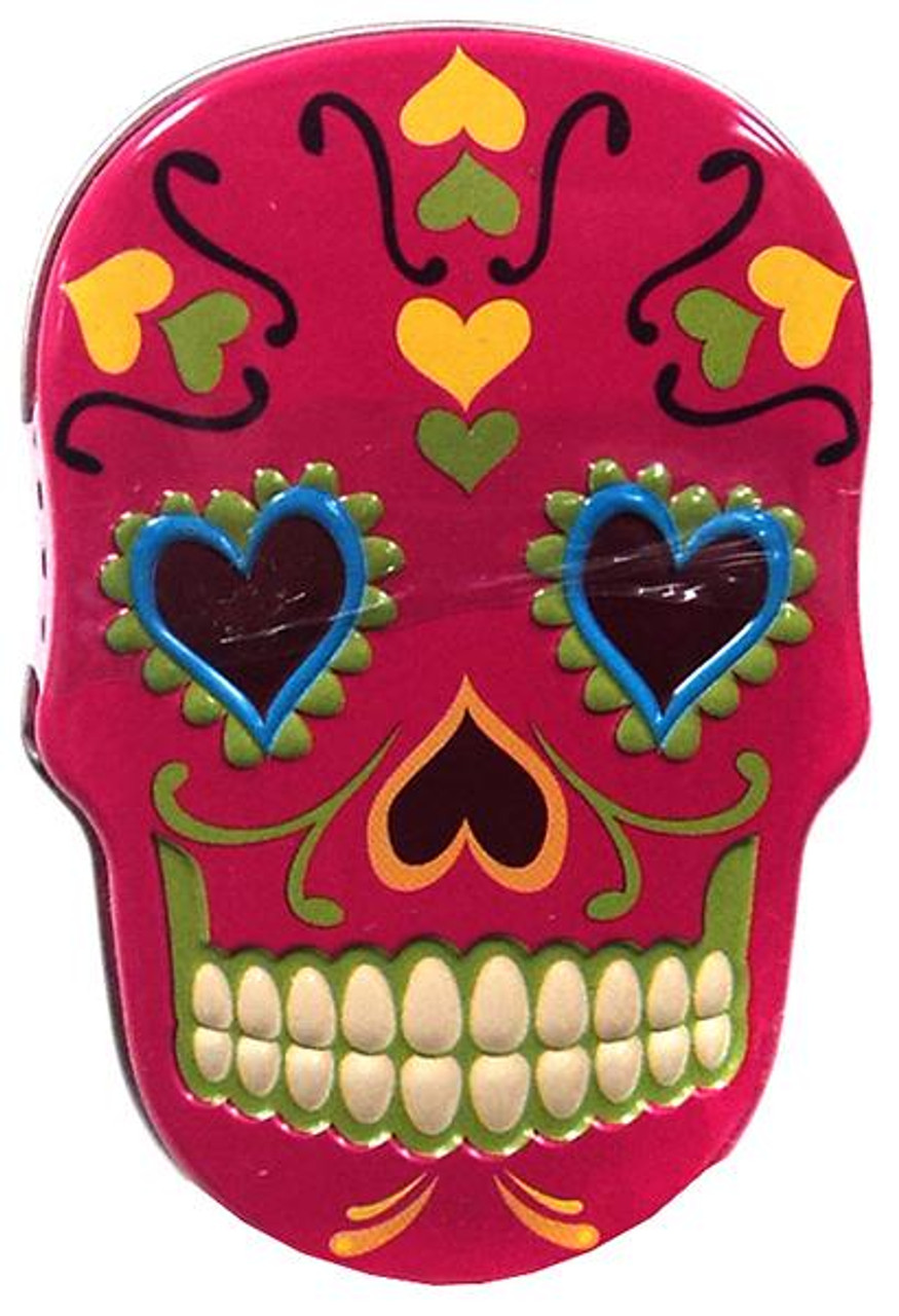 Sugar Skull Candy Tin [Pink]
