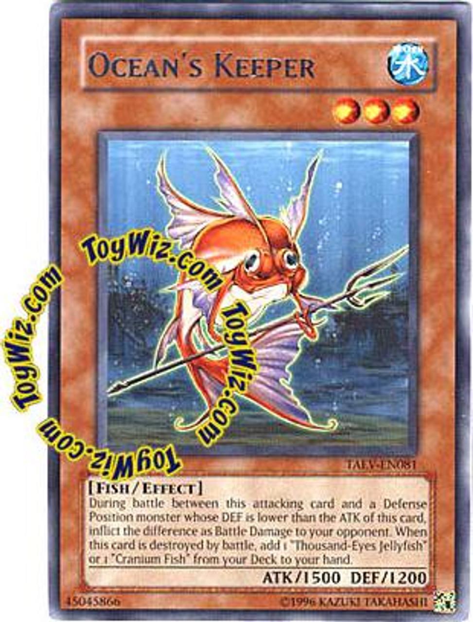 YuGiOh GX Tactical Evolution Rare Ocean's Keeper TAEV-EN081