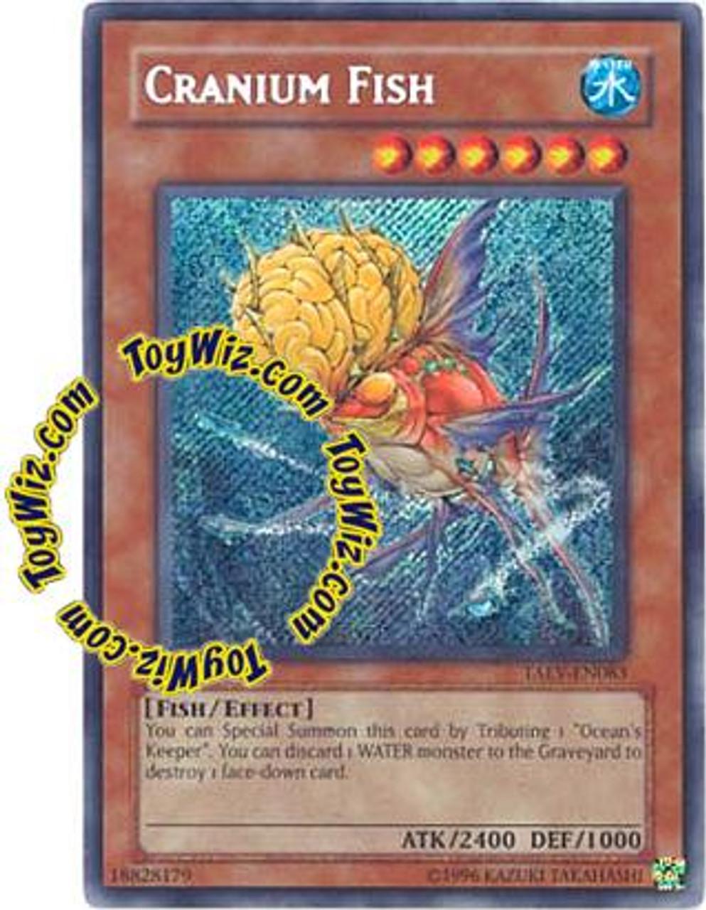 YuGiOh GX Tactical Evolution Secret Rare Cranium Fish TAEV-EN083