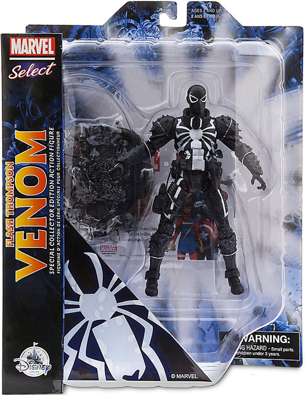 Marvel Select Flash Thompson Venom Exclusive Action Figure
