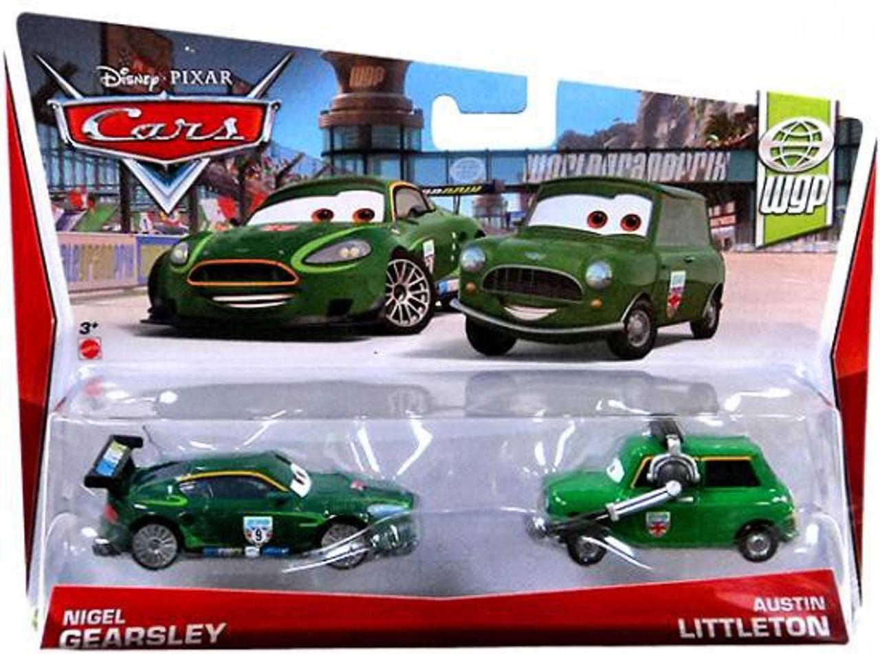 Disney Cars Series 3 Nigel Gearsley & Austin Littleton Diecast Car 2-Pack