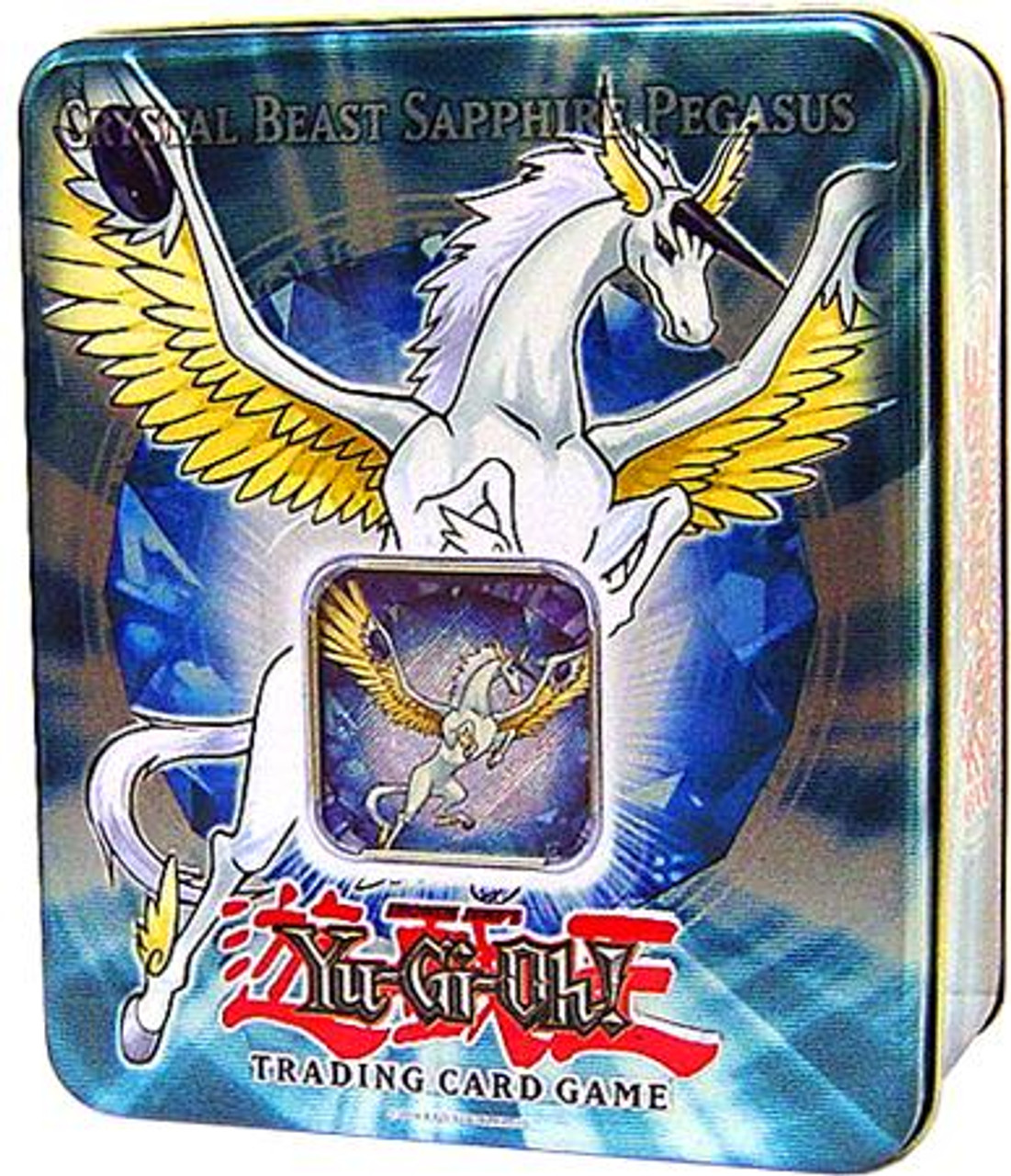 YuGiOh GX 2007 Collector Tin Crystal Beast Sapphire Pegasus Collector Tin [Sealed]