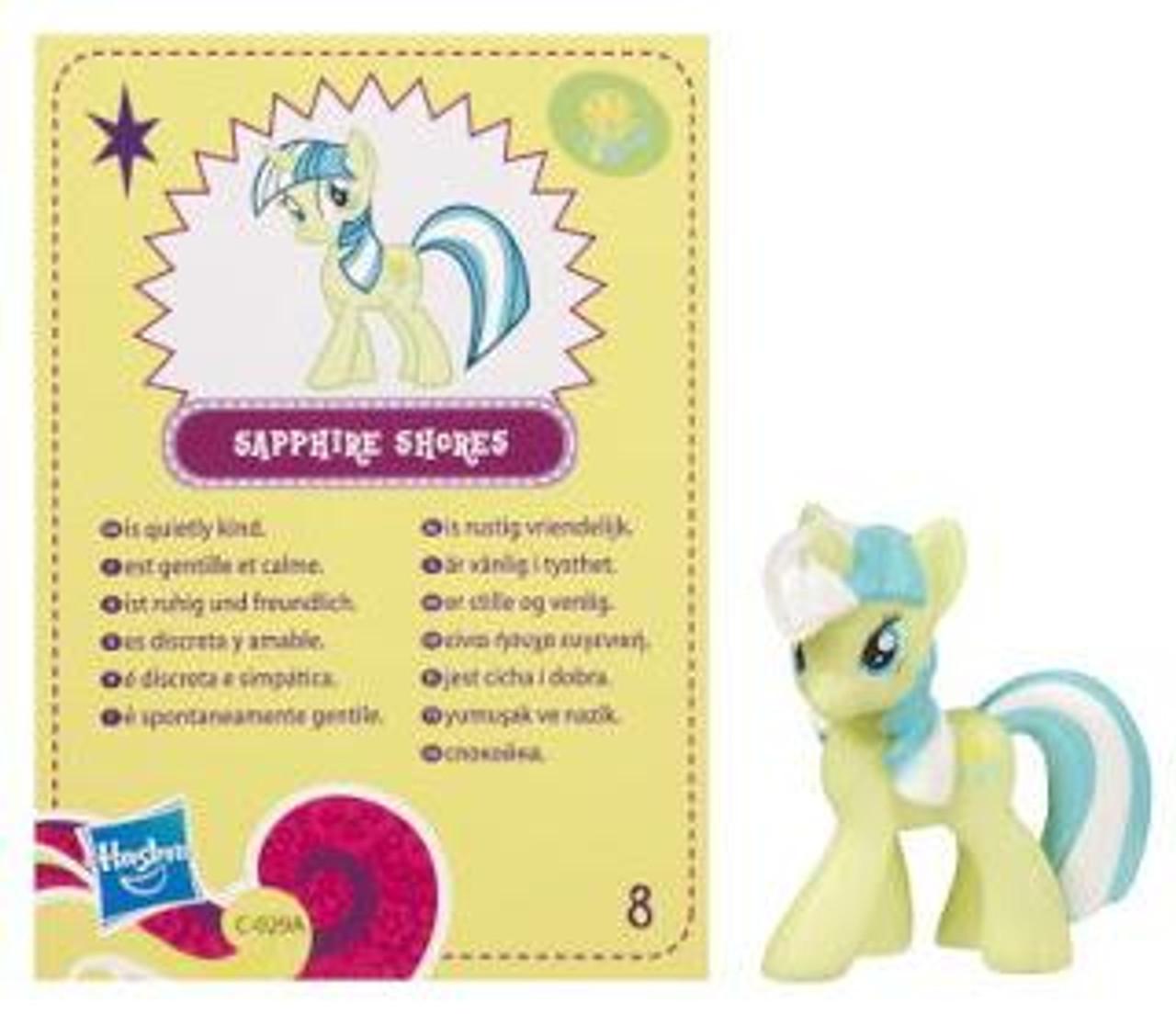 My Little Pony Series 4 Sapphire Shores 2-Inch PVC Figure